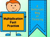 Multiplication Fact Practice
