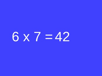 3.OA.C.7 ~ Multiplication Fact Practice 6s, 7s, 8s, and 9s