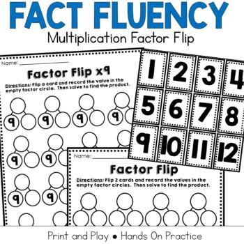 Multiplication Fact Practice: Factor Flip
