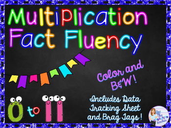 Multiplication Fact Practice - Facts on a Ring!