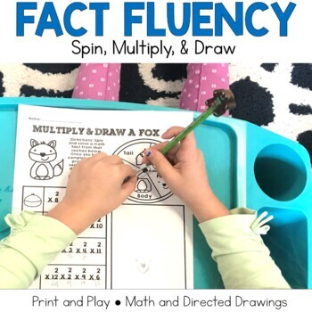 Multiplication Fact Practice: Multiply and Draw