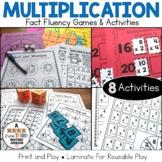 Multiplication Fact Practice Super Bundle: 8 Hands-On Math Activities