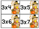 Multiplication Fact Practice: Thanksgiving Themed Centers!