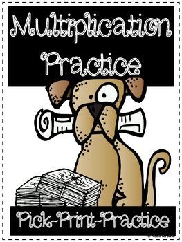 Multiplication Fact Practice/Assessment