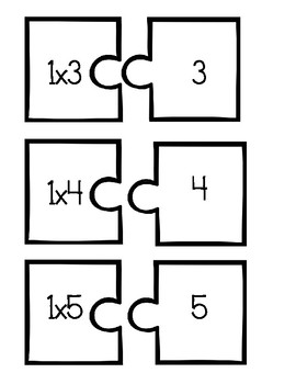 Multiplication Fact Puzzle