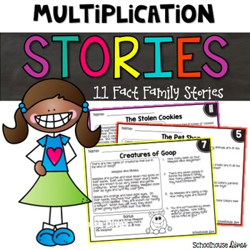 Multiplication Facts Story Problems