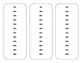 Multiplication Fact Review Fan