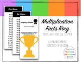 Multiplication Fact Ring Set