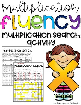 Multiplication Fact Search