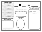 Multiplication Fact Strategies Worksheet