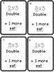 Multiplication Fact Strategies X 3 Scoot Game Double and a