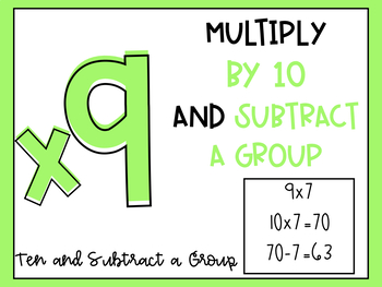 Multiplication Fact Strategy Posters (x1-10)