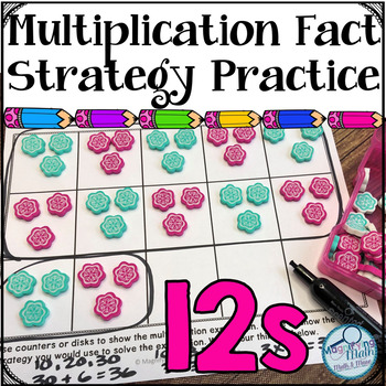 Multiplication Fact Strategy Practice Activities and Games 12s
