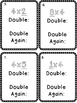 Multiplication Fact Strategy X 4 Double Double Again Scoot