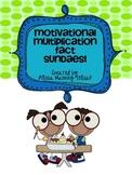 Multiplication Fact Sundaes