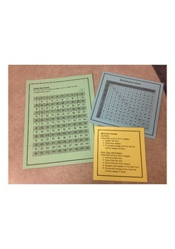 Multiplication Fact Survival Kit - Memorization and Unders