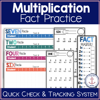 Multiplication Fact Tests