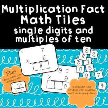 Multiplication Fact Tiles