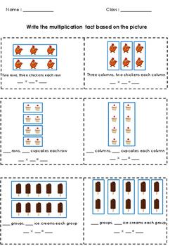 Multiplication Common Core 4.OA.A.1