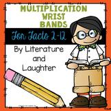 Multiplication Fact Wrist bands