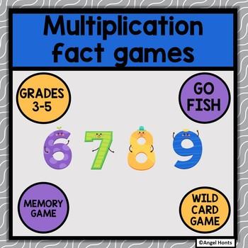Multiplication Fact games