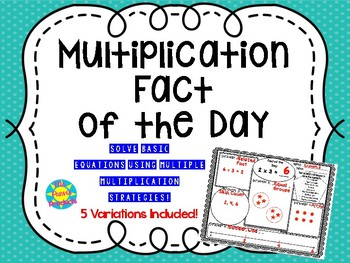 Multiplication Fact of the Day