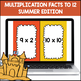 Multiplication Facts to 12 (End of Year Edition)