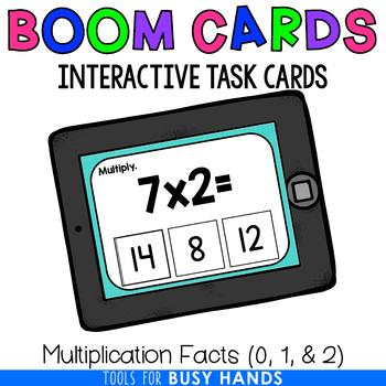 Multiplication Facts 0, 1, & 2 (Boom! Deck)