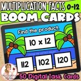 Multiplication Facts 0-12 BOOM Cards | Digital Task Cards | Set 2