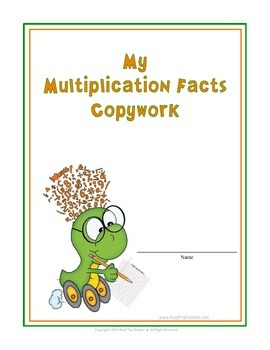 Multiplication Facts 0-12 Copywork