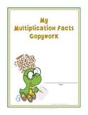 Multiplication Facts 0-12 Copywork