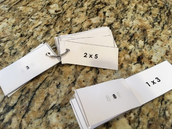 Multiplication Facts 0-12 Mini Pocket Book