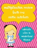 Multiplication Facts 0-12 Review Cootie Catchers