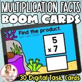 Multiplication Facts 0-5 BOOM Cards | Digital Task Cards | Set 1