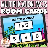 Multiplication Facts 0-5 BOOM Cards | Digital Task Cards | Set 2