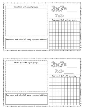 Multiplication Facts 1-10 Booklets