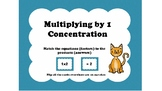 Multiplication Facts 1-10 Concentration Bundle