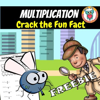 Multiplication Facts (1-12) Crack the Fun Fact Free Worksheet Activity