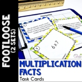 Multiplication Facts 1 & 2 Footloose Math Game
