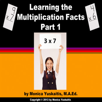 Common Core 3rd - Multiplication Facts 1 - Learning the Mu