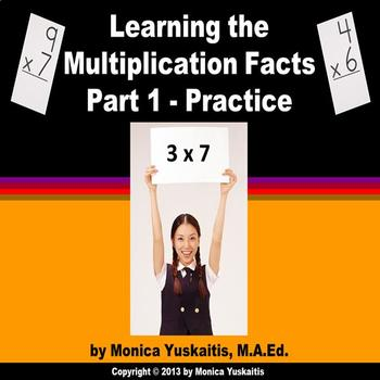 Common Core 3rd - Multiplication Facts 1 - Practice