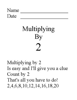 Multiplication Facts 1 through 5