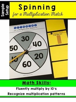 Multiplication Facts - 10 Times Table