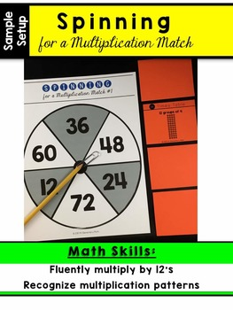 Multiplication Facts - 12 Times Table