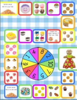Multiplication Facts 1,2,4,5 Game