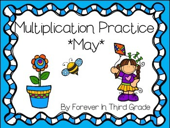 Multiplication Facts - May