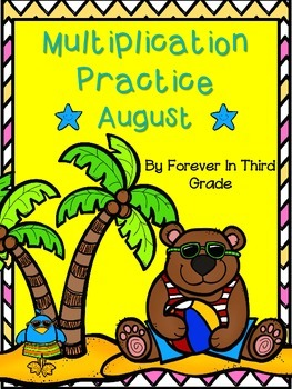 Multiplication Facts - Summer