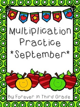 Multiplication Facts - September