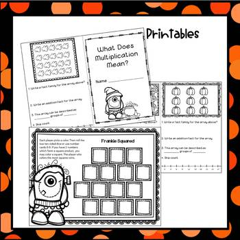 Multiplication Facts - October