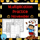 Multiplication Facts - November